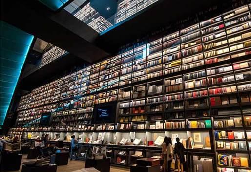 赞!世界最大最美的图书墙落户深圳
